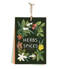 2014 Herbs and Spices Calendar