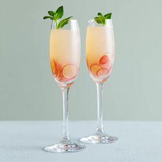 Grape Sparklers. Via F&W (www.foodandwine.com).