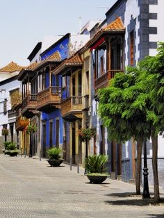 Street at Teror, #Gran #Canaria