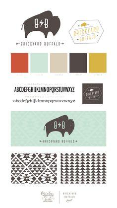 Brickyard Buffalo Branding | by October Ink | www.octoberink.com