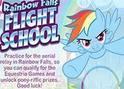 Rainbow Dash Escuela de Vuelo | juegos my little pony - jugar mi pequeño pony