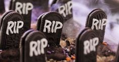 graveyard rice krispie treats recipe for Halloween! with all union-made ingedients