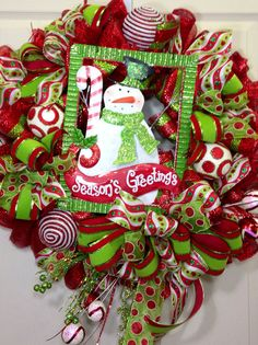 christma mesh, christma wreath, christma decor, christmas mesh wreaths