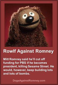 Dogs Against Romney