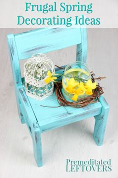 Frugal Spring Decorating Ideas