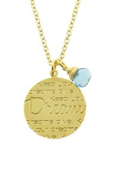 Dream Message Necklace