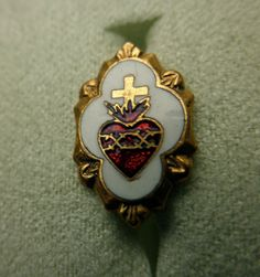 immaculate heart pin