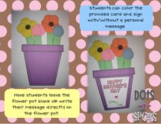 Mother's Day Flower Bouquets-Freebie
