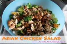 salad recipe mom favorites sub 1 bag broccoli slaw for broccoli ...