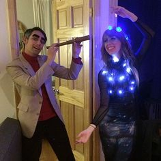 Science costume: Carl Sagan and the Cosmo's