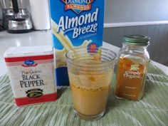 1 teaspoon Tumeric, 1/2 teaspoon black pepper and almond milk:  to help relieve sciatic pain. Author says takes about a half hour to kick in.