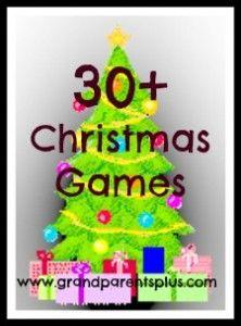 30+Christmas Games
