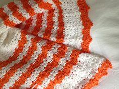 Cobija en crochet hecha por Marianela Collado