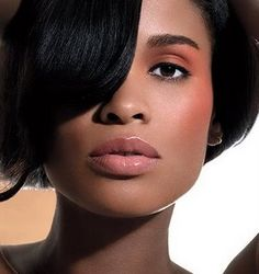 Beautiful African American in makeup | African American Brides Blog: 6 Months to Beautiful Skin for Your Big ...