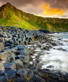 Giant's Causeway - Northern Ireland  #beautifuldestination