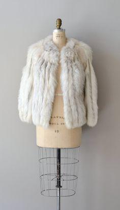 Yakutsk fox fur coat / vintage 70s fur coat / short by DearGolden, $165.00