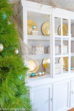 Deck the Halls Christmas Home Tour 2013