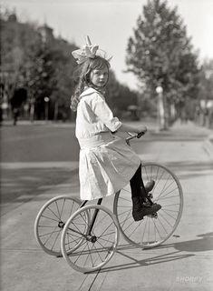 Tyke on Trike - 1915