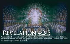 Picture Of GOD On Throne In Heaven Bible Verse Revelation 4-2-3 HD Wallpaper