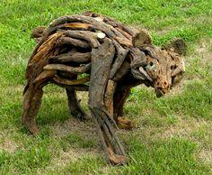 Rachel Wilson - Bear Sculpture