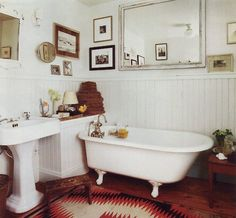 Traditional British bath