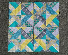 March bee blocks Sew Quilt Give Red bee by allisonsews on Flickr.