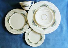 Vintage Lenox Rutledge 5 pc Place Setting by YoursOccasionally, $65.00