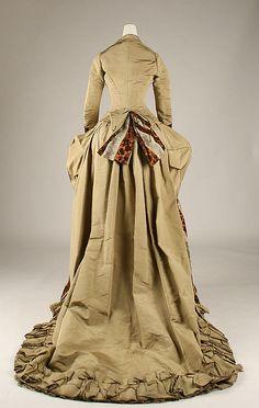 Dress, 1875-77 US, the Met Museum