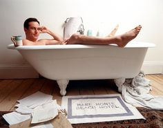 Jason Isaacs in the bath!!!!!