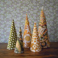 Alternative Christmas decorations.