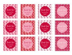 Adorable Valentine's Day packaging idea - FREE tag printables