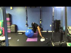 PHYSIO BALL WORKOUT - Episode 106 with Yvette Salva - YouTube