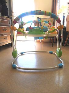 Fisher Price Discover n Grow Baby Jumperoo Boy Girl Unisex Bouncer - Gently Used Buy It Now $65.00