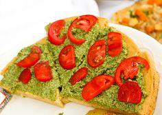 How to make French socca: a vegan, gluten free savory pancake.