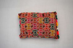 One of a kind Moroccan kilim cushion 129 - from Red Thread Souk