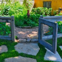 Garden Gate Design Ideas, Pictures, Remodel, and Decor - page 17