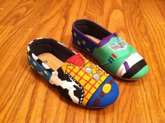 Buzz Lightyear and Sheriff Woody Shoes