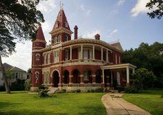 1898 J. D. Houston mansion, Gonzales, Texas.