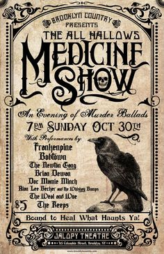 Great Medicine Show Poster