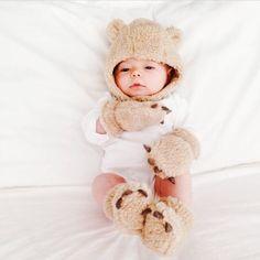 Baby bear hat, slipp