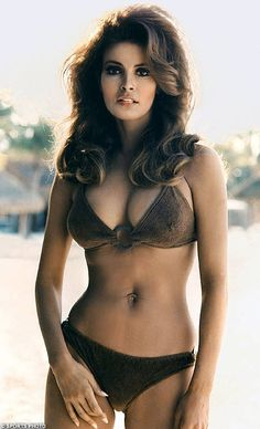 Raquel Welch in the days before Photoshop.