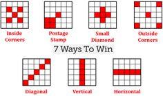 how to win on bingo