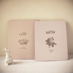 Image of French inspired crown & rose mousepad
