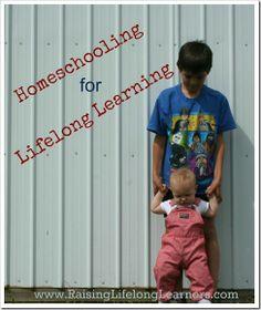 #Homeschooling to encourage Lifelong Learning