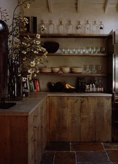 /\ /\ . Misczynski Home . Reclaimed wood kitchen cabinets