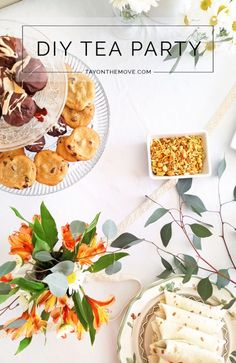 DIY Tea Party Idea -