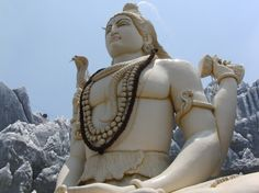 SHIVA  Tamara A.    This gorgeous Shiva temple is located in Bangalore, India. Thousands of devoted people visit daily.