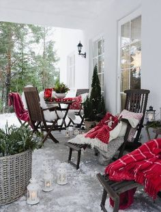cozy Christmas outdoor