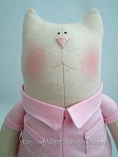 tilda cat com molde