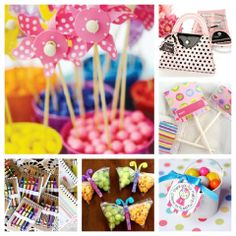 Ideas de souvenirs para el cumpleaños de lo mas pequeños. pinned with Pinvolve